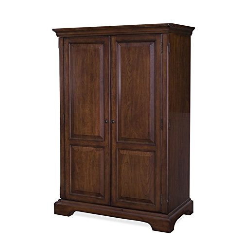 Riverside Furniture Cantata Computer Armoire in Burnished Cherry by Riverside Furniture