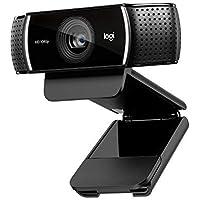 Logitech C920 HD Pro - Cámara Web, videoconferencias y grabaciones de vídeo Full HD 1080p con dos micrófonos estéreo, Negro