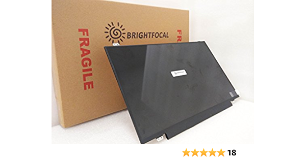 BRIGHTFOCAL New Screen Replacement for Chromebook XE350XBA-K01US 1080P IPS FHD Full-HD 15.6 Non-Touch LED LCD Screen Display