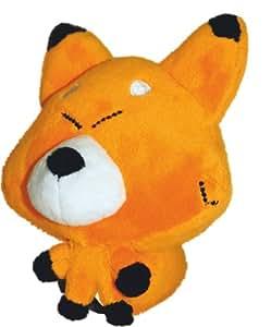 Bandai 12050 Wakfu Dofus Pet Tifoux - Zorro de peluche, color naranja