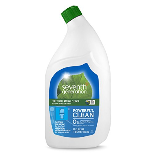 Seventh Generation Toilet Bowl Cleaner, Emerald Cypress & Fir Scent, 32 oz (Best Natural Toilet Cleaner)