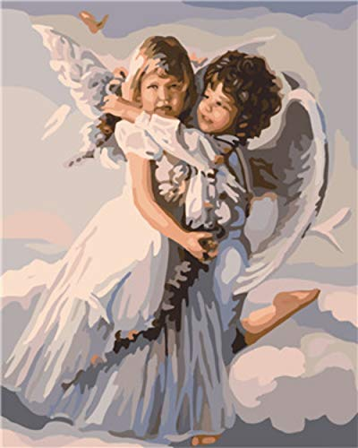 Angel girl2 DIY 5D Diamond Painting Full Drilling Embroidery Rhinestone Paste DIY Painting Cross Stitch Household A…