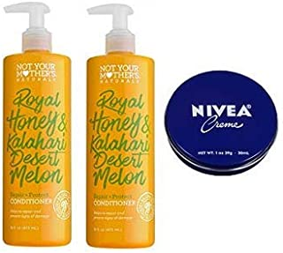 product image for Not Your Mother's 2 Pack Naturals Royal Honey & Kalahari Desert Melon Repair & Protect Conditioner 16 Oz.+ Travel Size Body Cream 1 Oz.