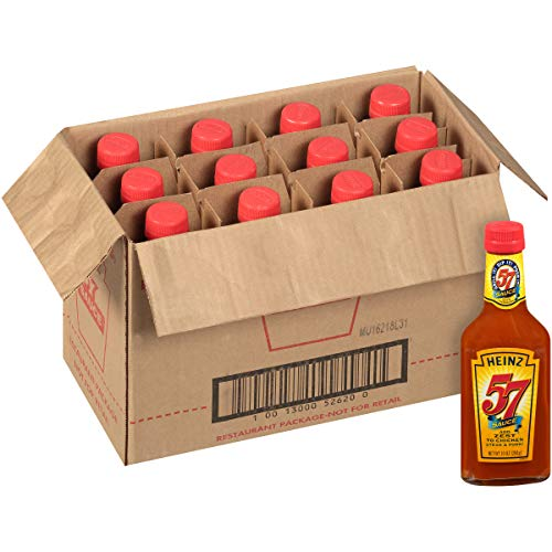 (Heinz 57 Sauce (10 oz Bottles, Pack of 12))
