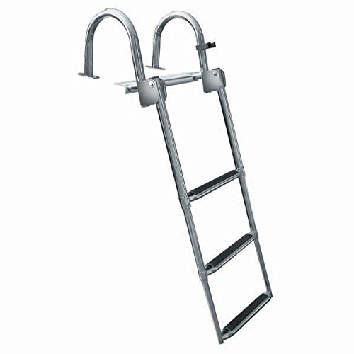 Seats Rear Pontoon Furniture (AMRJ-FJL3 * JIF Premium Stainless 3 Step Rear-Entry Ladder)