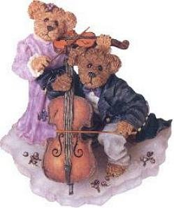 (Boyds Bears & Friends the Bearstone Collection Amanda and Michael... String Section)