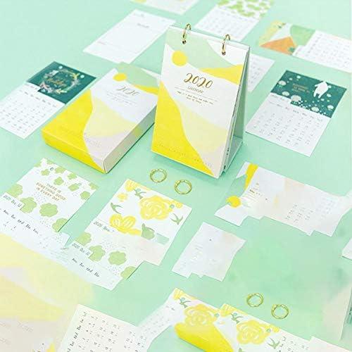 iBoosila Tischkalender 2020 - Warmes Herz Stil Design, Kann Jede Seite Verwendet Werden, Um Wichtige Dinge, Liebesleben Aufzuzeichnen masterwork