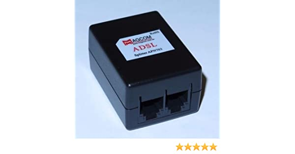 Amazon.com: Focuslife ADSL ADSL2+ DSL Modem Telephone Phone Fax In-Line Splitter Filter Network APN703: Computers & Accessories
