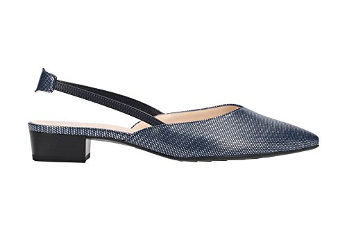 Carsta Back Kaiser Women's Heels Peter Sling Notte Crown Blau 6OzFT