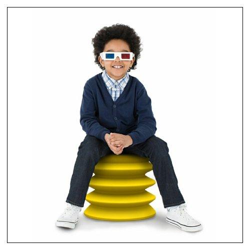 Kids ErgoErgo ergonomic seat (Yellow)