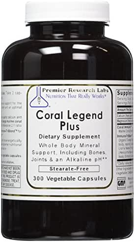 PREMIER RESEARCH LABS Coral Legend Plus - 300 Capsules