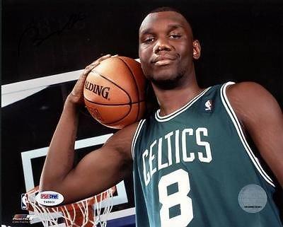 Al Jefferson Signed Celtics 8x10 Photo Authentic Autograph PSA/DNA #T48800