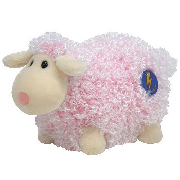 75fe6f9d040 Amazon.com  Ty Beanie Baby 2.0 Baabet the Lamb  Pink   Toys   Games