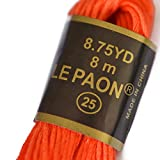 Embroidery Floss Rainbow Color 50 Skeins Per Pack Cross Stitch Threads Friendship Bracelets Floss Crafts Floss LE PAON