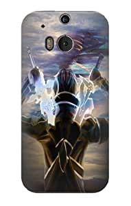 S1203 Sword Art Online Kirito Case Cover For HTC ONE M8