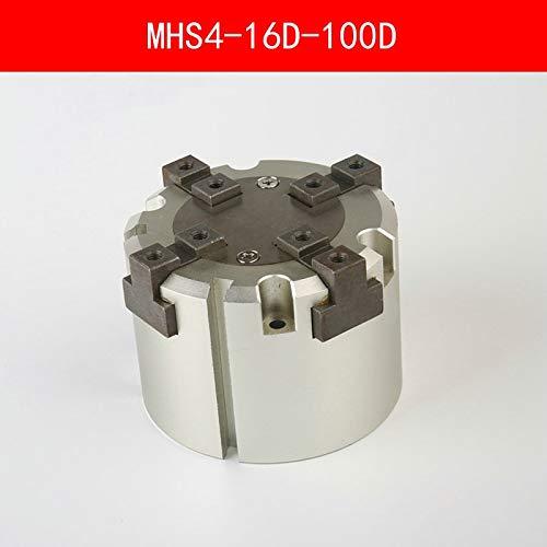 Fevas MHS4 16D 20D 25D 32D 40D 50D 63D 80D 100D Parallel Style Air Gripper 4 Finger Double Action Penumatic Cylinder Bore 16-100mm - (Color: MHS4 20D)