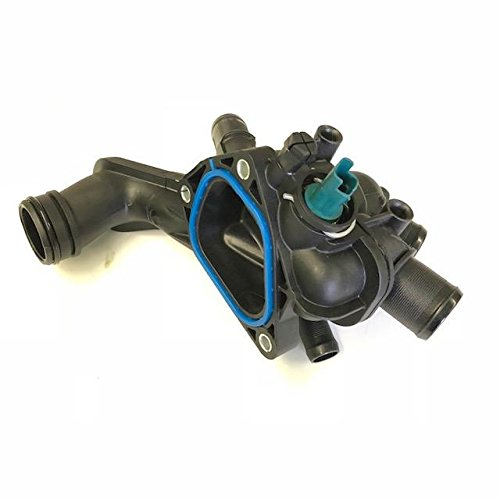 Mini Cooper Engine Coolant Thermostat with Housing and Gasket Brand New - Engine Thermostat Replacement