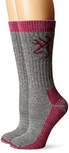 Browning-Hosiery-Womens-Heavyweight-Wool-Socks-Pack-2-Pair