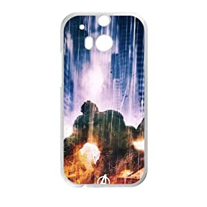 Hulk HTC One M8 Cell Phone Case White MSY212485AEW