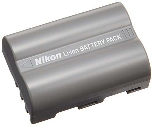 Nikon EN-EL3e Rechargeable Li-Ion Battery for D200, D300, D700 and D80 Digital SLR Cameras - Retail Packaging (Digital Rechargeable Battery Camera)