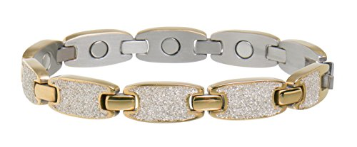 (Sabona 28075 Caribbean Sunshine Magnetic Bracelet in Gold, 0.1 Ounce)