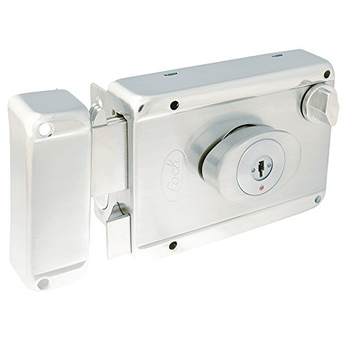 Lock L7725ATAIN Cerradura de Sobreponer Ancla Llave de Puntos