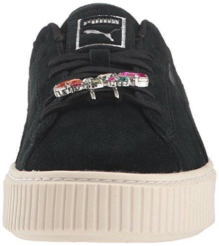 Silver 4 Us Jewel Puma kids Platform Big Kid Black Unisex Sneaker Suede M Aqxw8xZB0