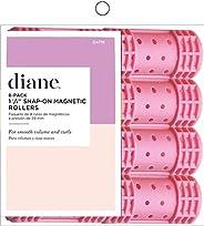 Diane Rolos magnéticos de encaixe – Pacote com 8 modeladores de cabelo para mulheres e meninas – Pequeno – 3,5