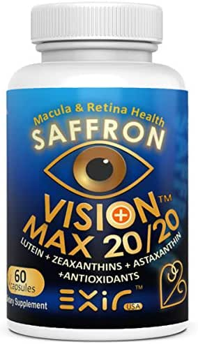 Vision Max 20/20® with Lutein + High Potency Other Carotenoids, Supports Vision Macular Health