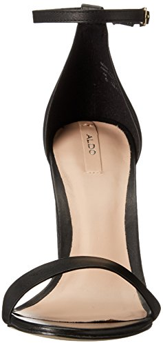 Dress Black Margaree Women's Aldo Sandal Leather wYBF6nqCx