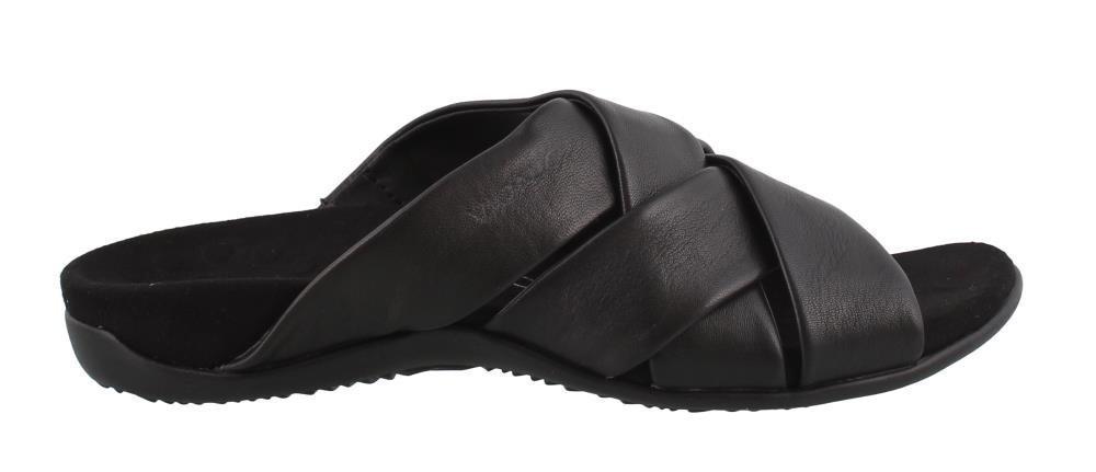 Vionic Women's Juno Slide Sandal B07D3HF9W9 7 C/D US|Black