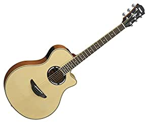 yamaha apx500iii thinline cutaway acoustic electric guitar natural musical instruments. Black Bedroom Furniture Sets. Home Design Ideas
