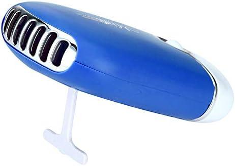 Couleur : Black noir Mini USb ventilateur PC Climatiseur de charge portatif mini USB r/éfrig/érant /à main petit ventilateur