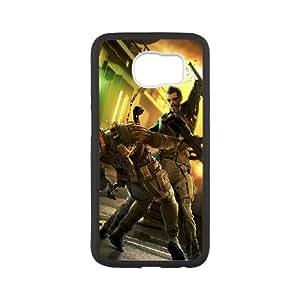 deus e human revolution Samsung Galaxy S6 Cell Phone Case Black 53Go-226437