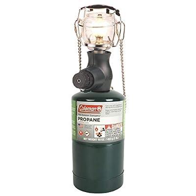 Coleman Gas Lantern | 300 Lumens Compact 1 Mantle Propane Lantern