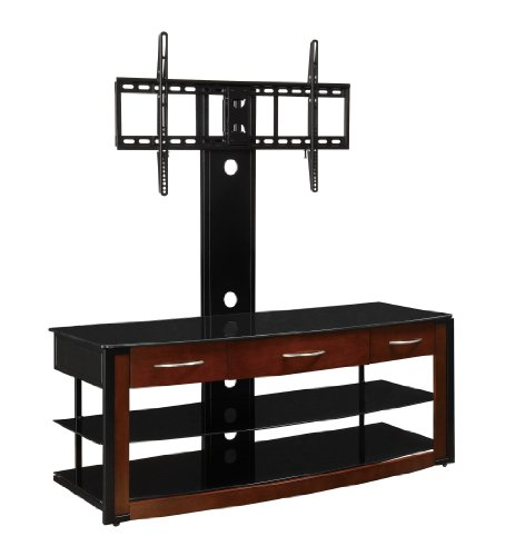 Coaster Home Furnishings Contemporary TV Console, Matte Black
