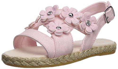UGG Girls T Allairey Sparkles Flat Sandal, Seashell Pink, 12 M US Little Kid