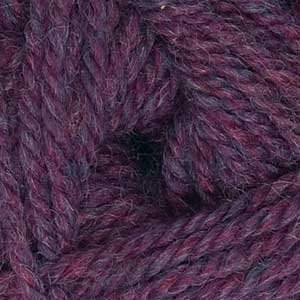 Heathers Worsted Plymouth Encore (Encore Worsted Solid Dark Fuschia Heather Yarn #355)