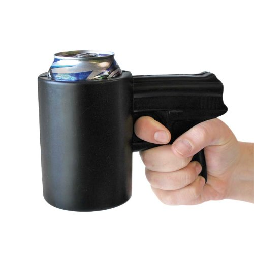 Big Mouth Toys Gun Shaped Drink Kooler