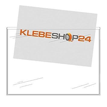 A4 Buste Trasparenti da incollare brochure Rettangolo tasche per documenti foto selbstk lebet aschen trasparente etc.// 20/o 100/pezzi volantini DIN lungo A5/o A6/| Larghezza Lato Aperto