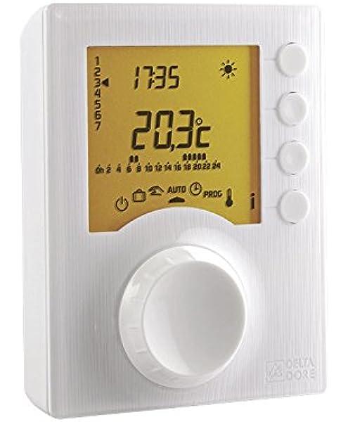 Delta Dore 6053005 Termostato Programab Tybox 117, Blanco, Talla ...