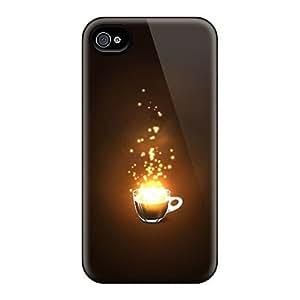 Slim New Design Hard Case For Iphone 4/4s Case Cover - SMyHhEX4384XzRrC
