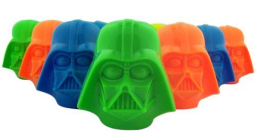 Star Wars Darth Vader and Stormtrooper Head Candy Filled Eggs, Box of (Star Wars Eggs)