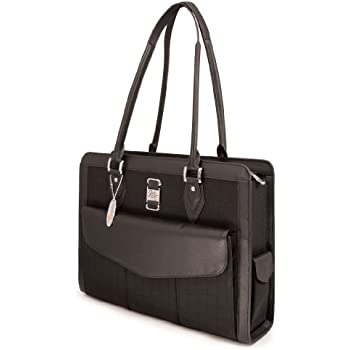 Mobile edge ultra laptop tote bag chocolate brown suede fits 16 inch pc and 17 for Swissgear geneva 19