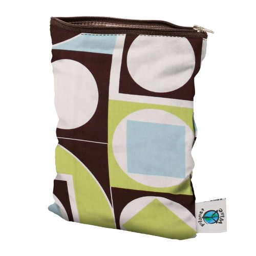 Planet Wise Wet Diaper Bag, Geometric Studio, Small