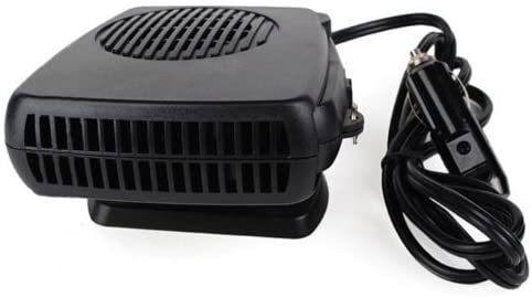 DC 12V 150W Portable Car Heating Cooling Fan Heater Defroster Demister Black