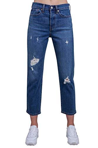 Jeans Strappi Alta Wedgie Taglia Vita 30 Con Donna Levi's 501 A Pg4qS