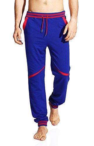 Westkun Men's Casual Baggy Drawstring Jogger Sweatpants