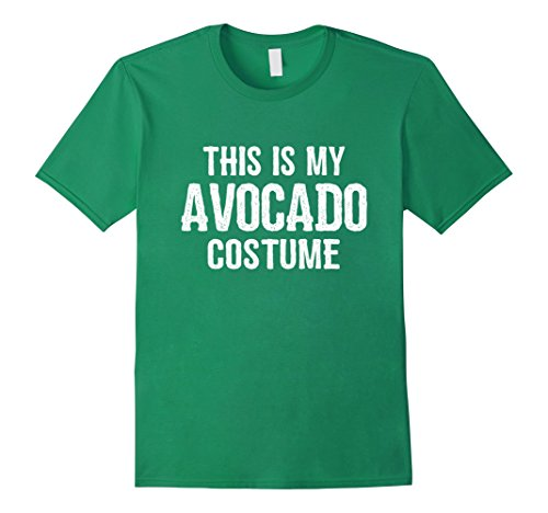 Guy Halloween Costume Ideas Easy (Mens Avocado Costume Shirt - Funny Easy Halloween Costumes Medium Kelly Green)