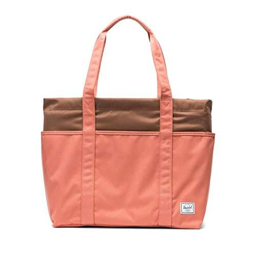 Herschel Terrace Shoulder Bag, Apricot Brandy/Saddle Brown, One Size